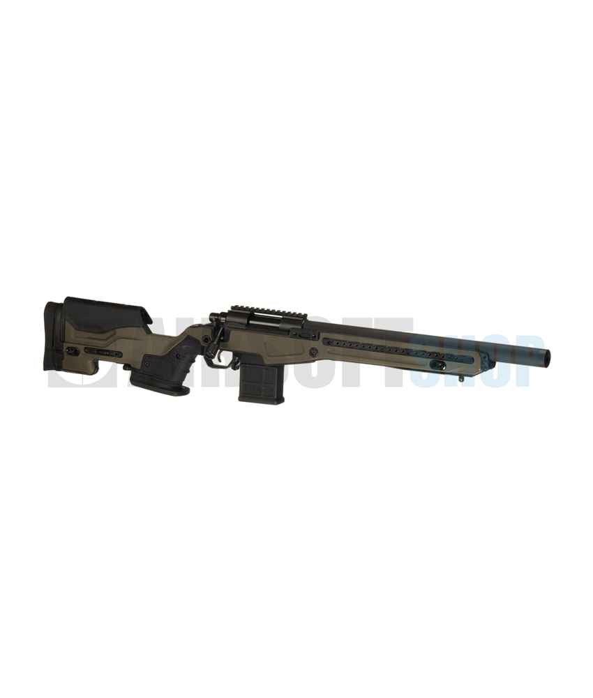 Action Army AAC T10 Short Bolt Action Sniper Rifle (Olive)