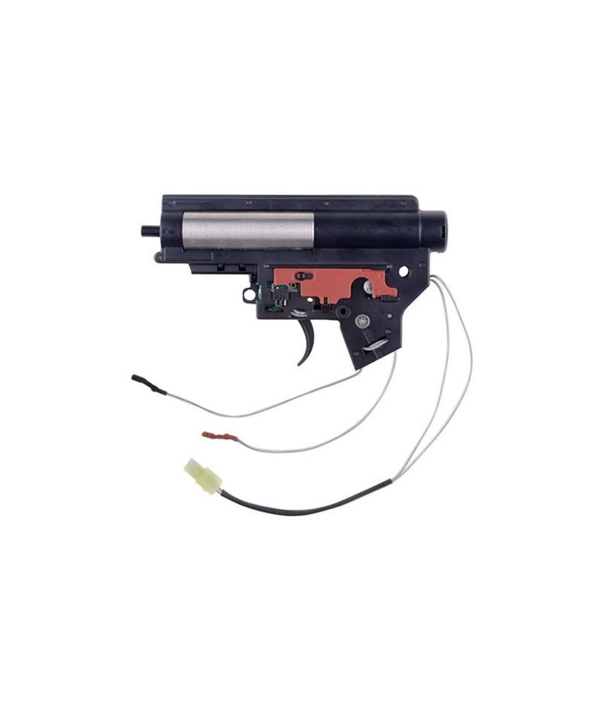 Specna Arms Complete Reinforced Gearbox V2 Mod2 with Electronic Contact (Rear-Wired)
