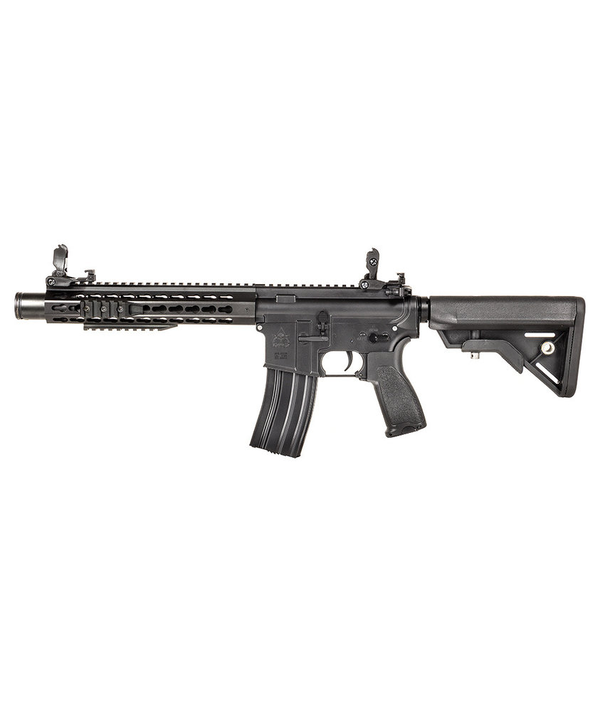 "Evolution Airsoft Recon UX4 10"" Amplified Metal (Black)"
