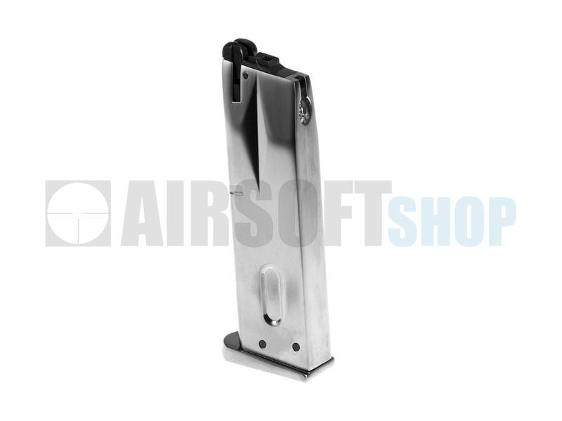 WE M9 GBB Mag (Silver)
