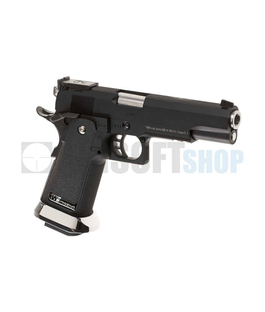 WE Hi-Capa 5.1 R1 Full Metal GBB (Black)