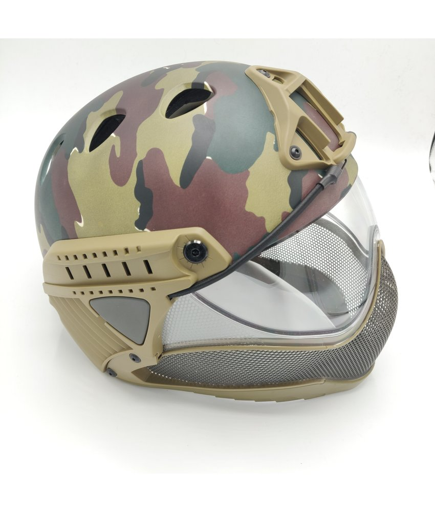WARQ Full Face Mask & Helmet (ABL)