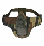 101 Inc Nylon / Mesh Face Mask (Woodland)