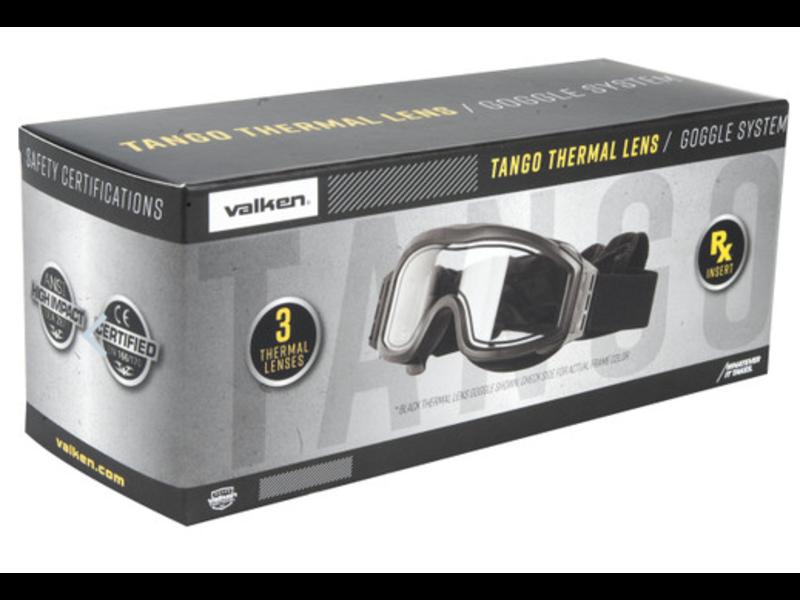 Valken Tactical Tango Thermal Goggles (Tan)