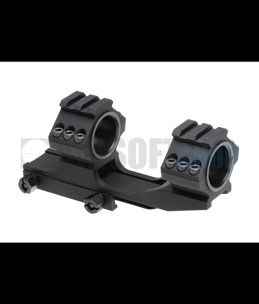 Aim-O Top Rail 25.4mm / 30mm Mount Base (Black)