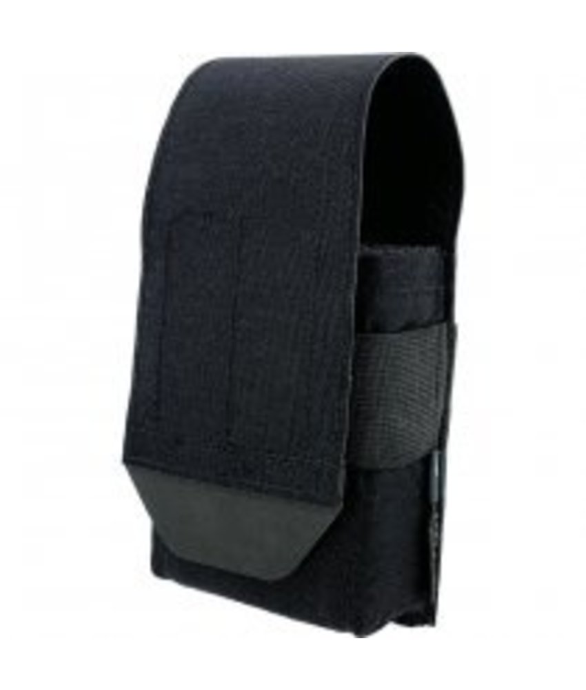 Pitchfork Closed Single AR15 Magazine Pouch (Black)
