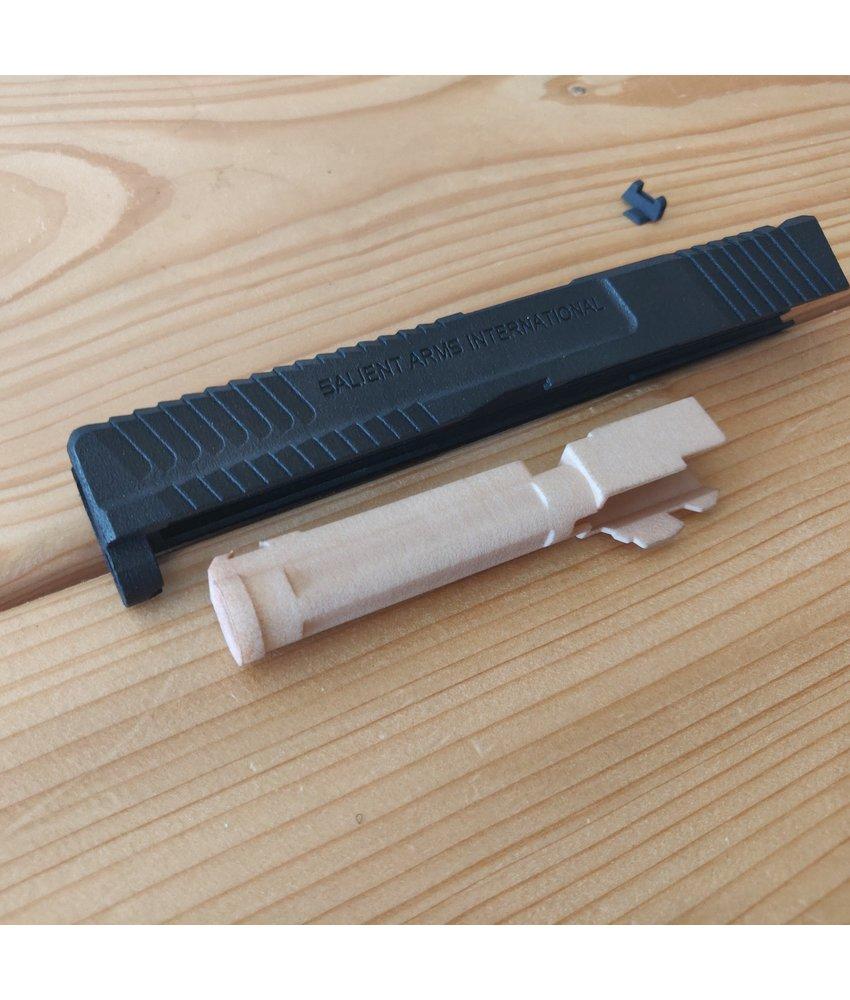 Ken's Props 3D Print G17 SAI BLU Hybrid  Slide (Black)