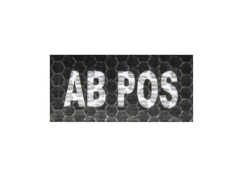 Airsoftshop AB Pos IR Patch (Black)