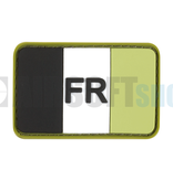 JTG France Flag Rubber Patch (Forest)