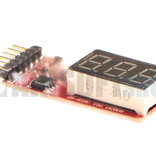 VB Power Simple Voltage Display 1-6S Lipo Voltage Meter