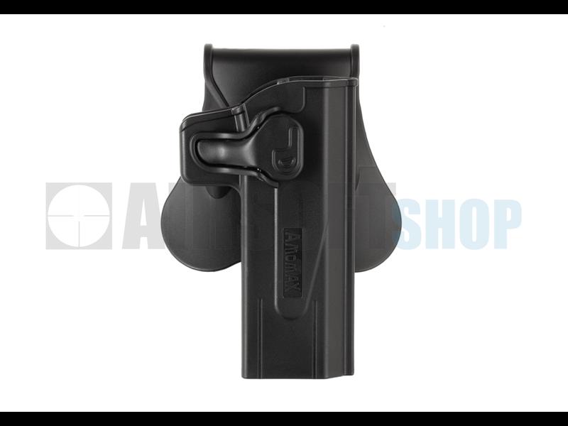 Amomax Paddle Holster for Paddle Holster For KJW Hi-Capa (Black)