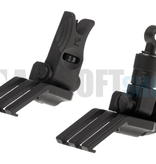 Ares Offset Flip-Up Sights Type A (Black)