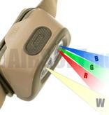 Petzl Headlamp TACTIKKA +RGB (Desert)