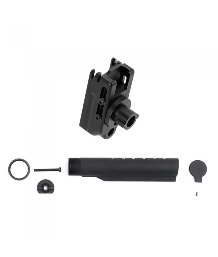 Laylax Stock Base Set For NEXT-GEN SCAR (Buffer Tube Adapter With Stocktube)
