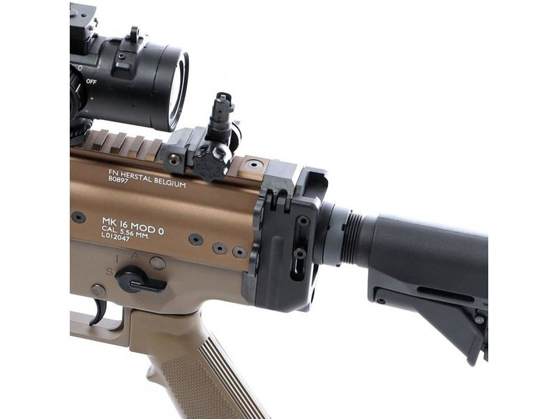 Laylax Stock Base Set For NEXT-GEN SCAR (Buffer Tube Adapter With Stock)