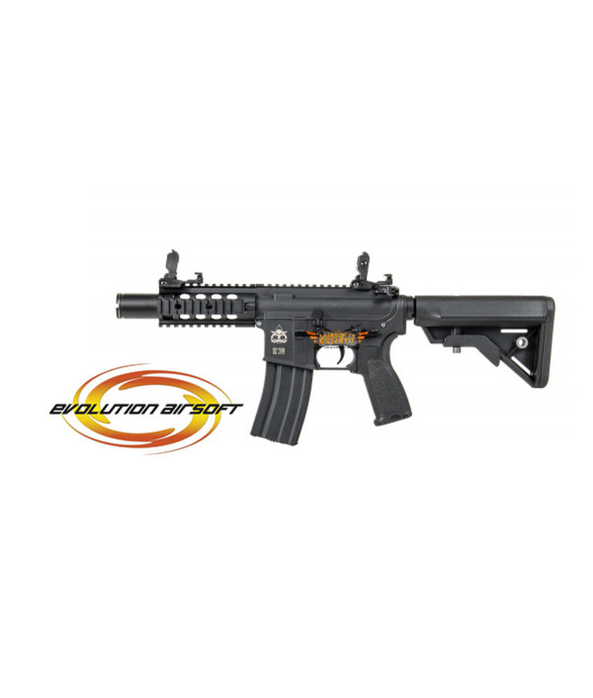 """Evolution Airsoft Recon UX 8"""" Amplified Carbontech (Black)"""