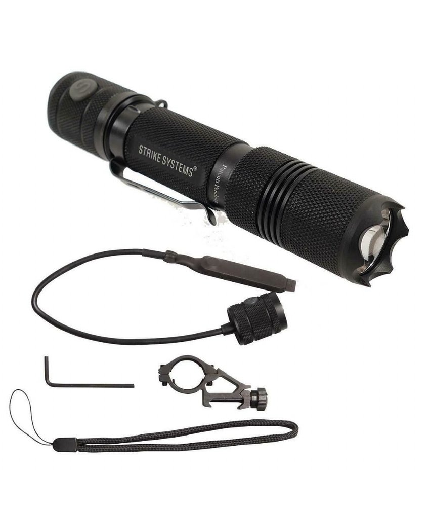 Strike Systems Marauder Flashlight (Black)