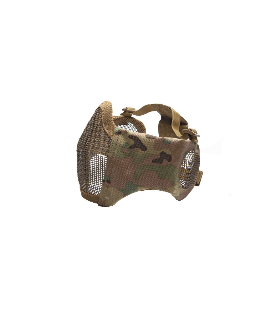 Strike Systems Nylon / Mesh Face Mask With Ear Protection (Multicam)