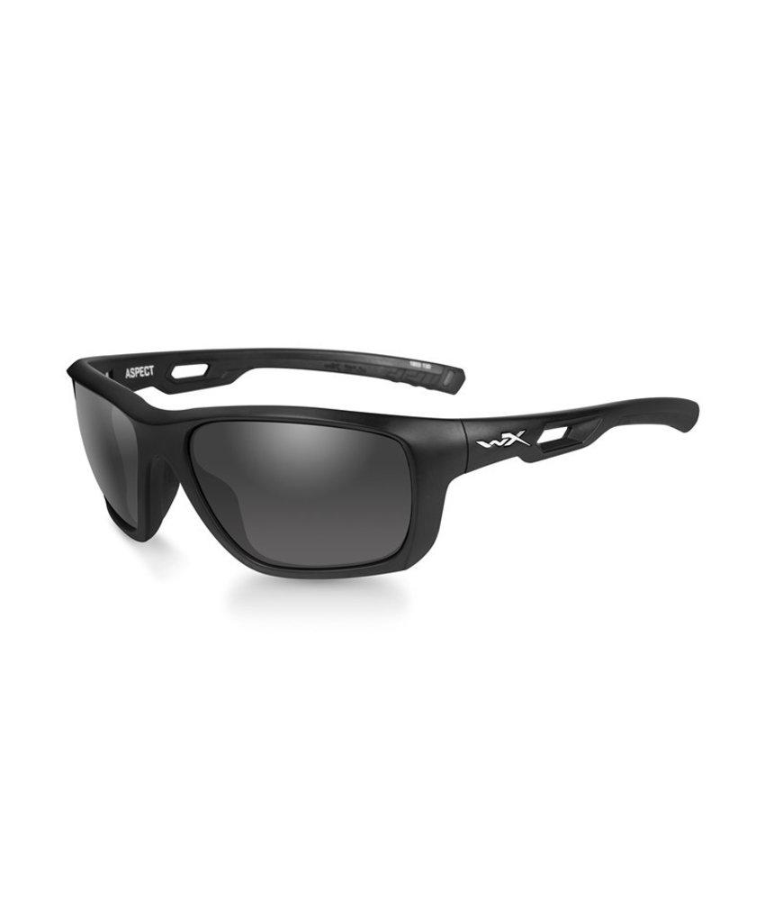 Wiley X Aspect Smoke Grey (Black Frame)
