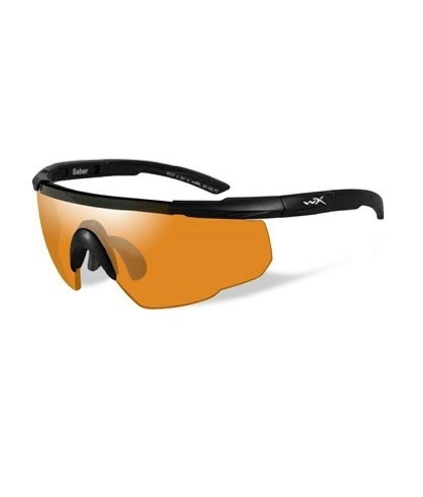 Wiley X Saber Advanced Light Rust Orange (Black Frame)