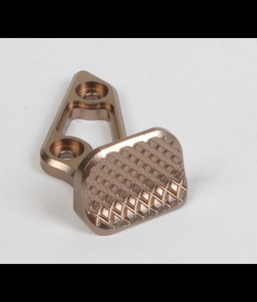 AIP Aluminium Skidproof Thumb Rest (Titanium)