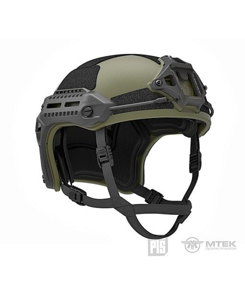 PTS MTEK Flux Helmet (Olive Drab)
