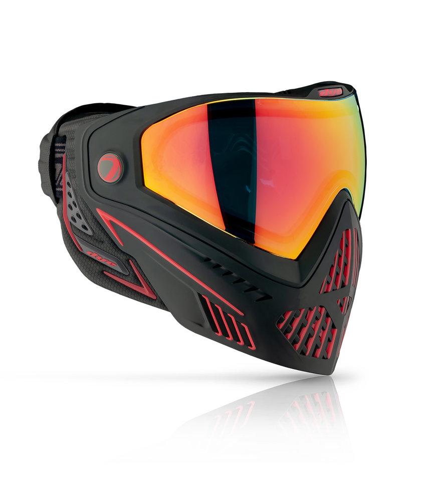 Dye Goggle i5 Fire / Black Red 2.0
