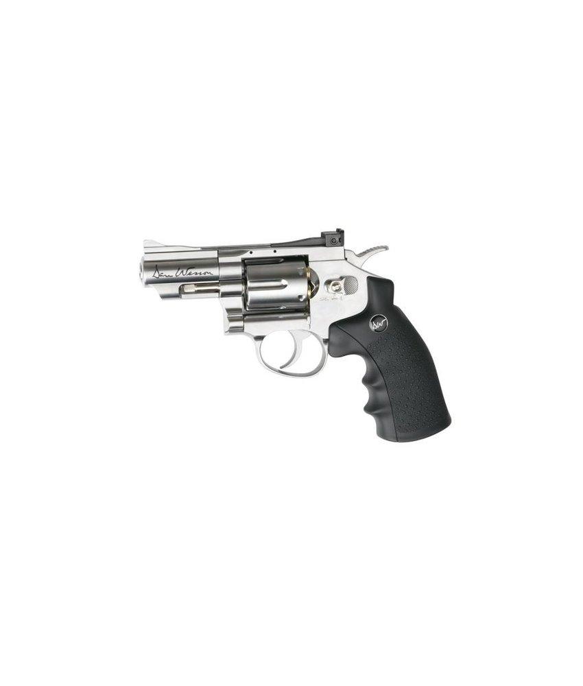 "Dan Wesson 2.5"" Revolver 4.5mm Airgun (Chrome)"