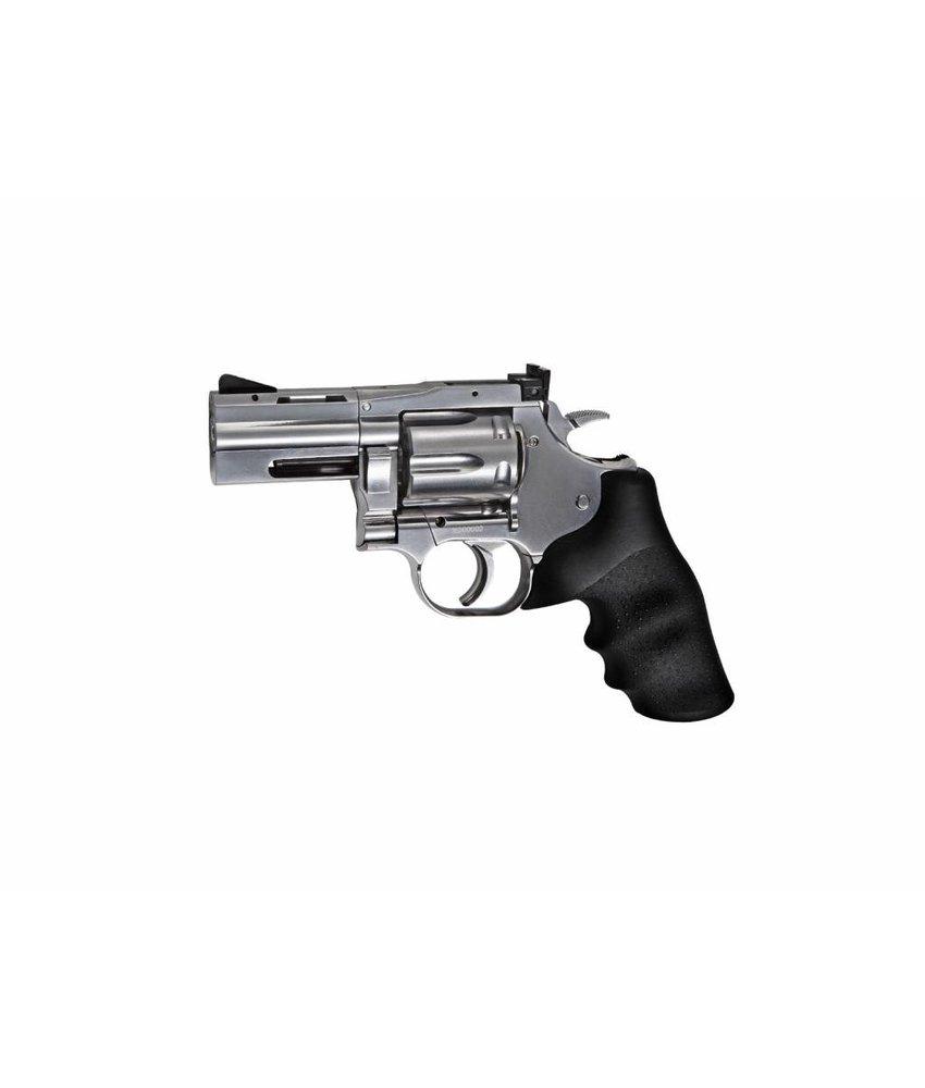"""ASG 2.5"""" Dan Wesson 715 4.5mm Airgun (Silver)"""