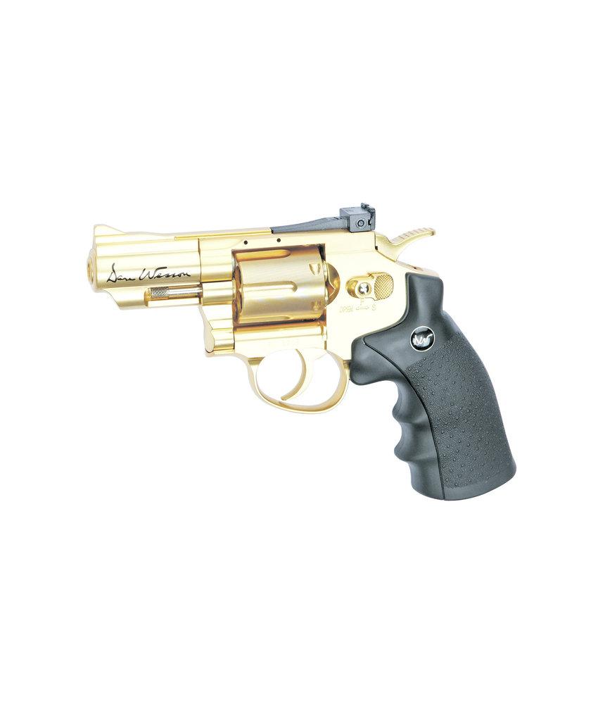"Dan Wesson 2,5"" revolver 4.5mm Airgun (Gold)"