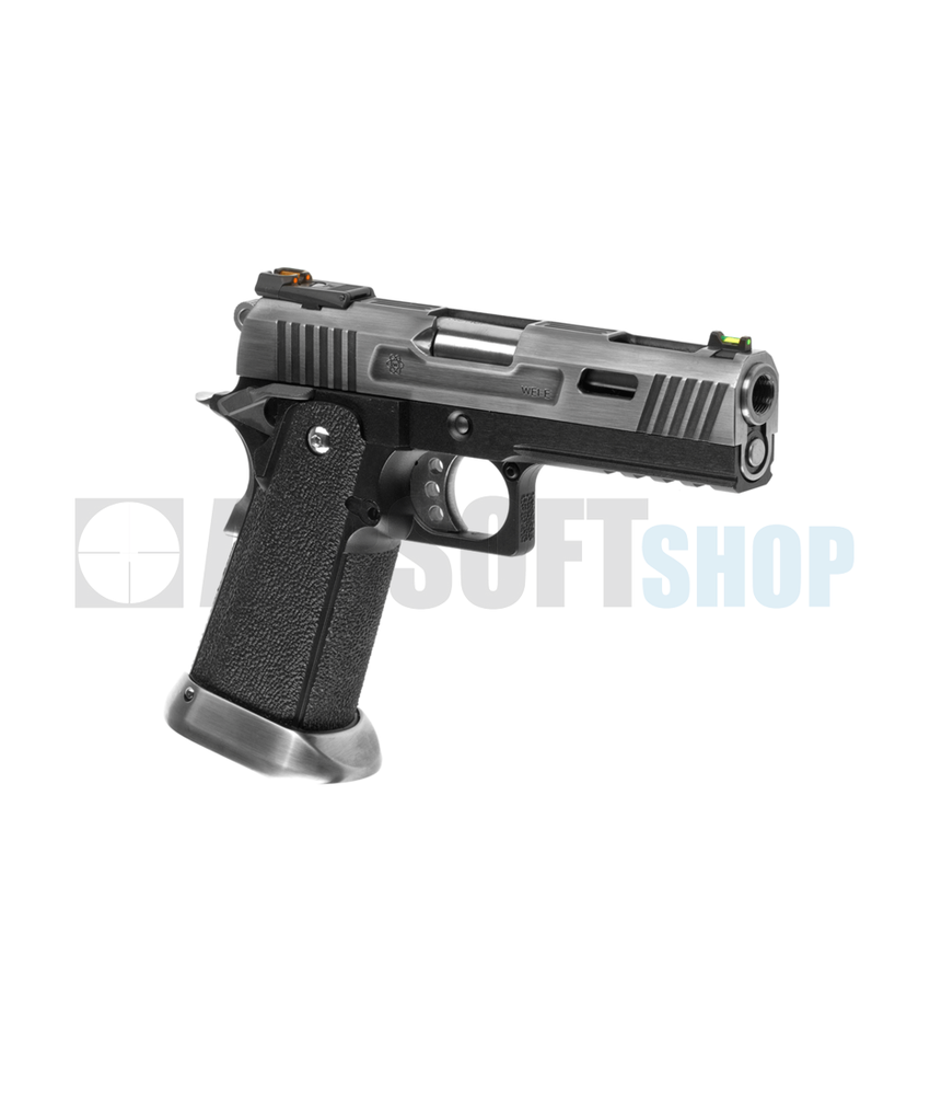 WE Hi-Capa 4.3 Force Full Metal GBB (Silver)