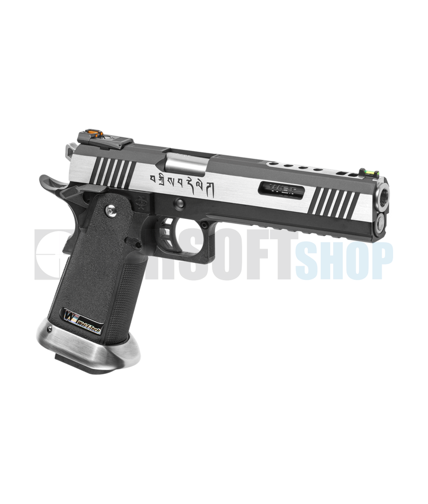 WE Hi-Capa 6 Force A Barrel Full Metal GBB (Silver)
