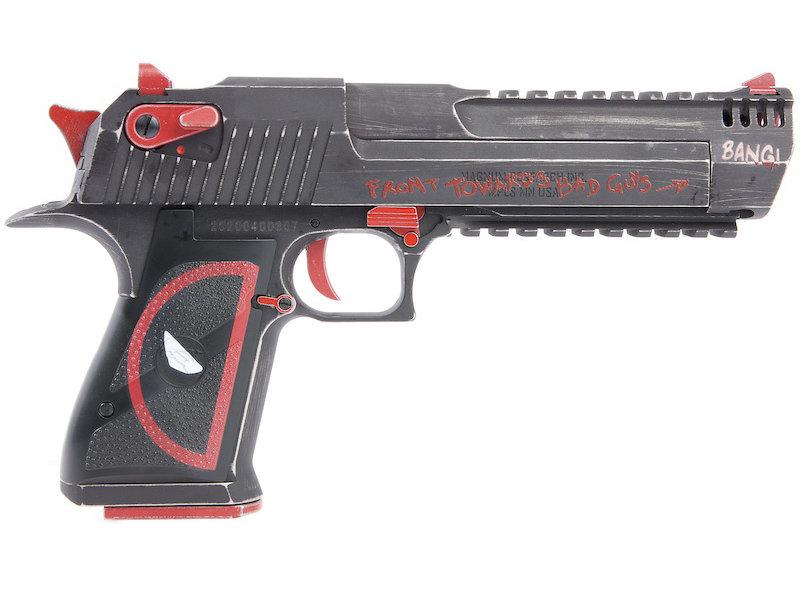 WE DEADPOOL Custom x Magnum Research Inc. DE 50AE GBB
