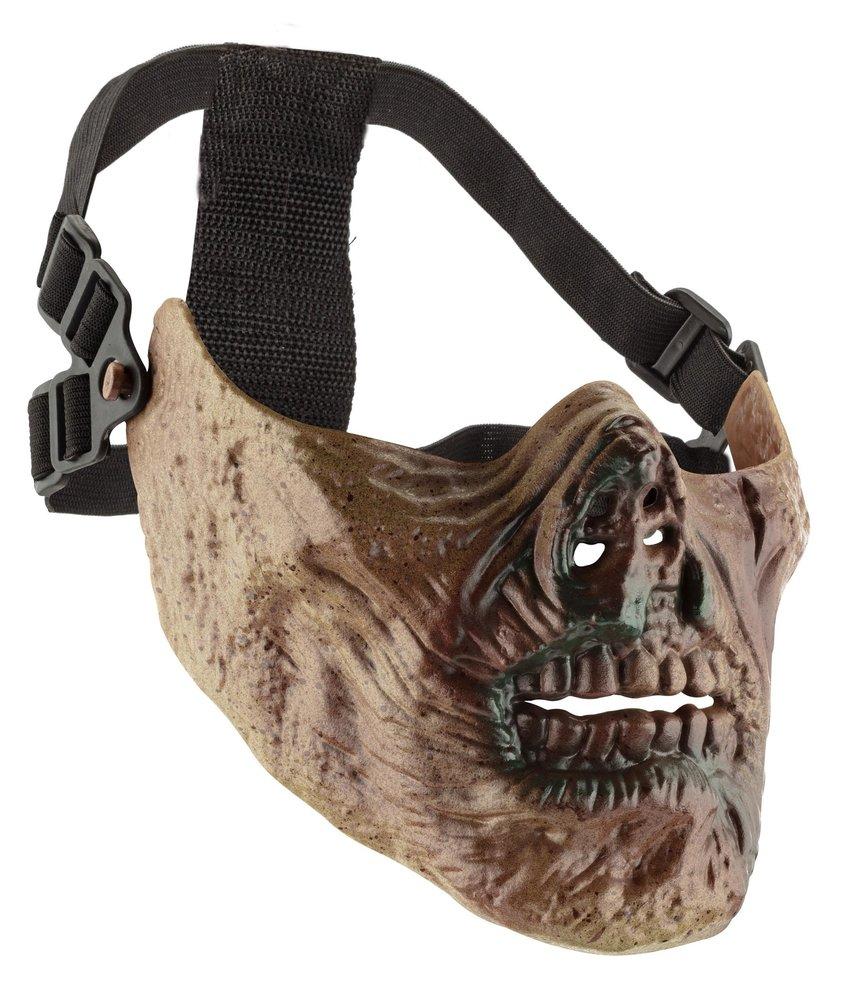 Sport Attitude Zombie Half Face Mask (Fake Blood)