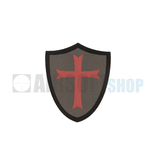 Claw Gear Crusader Shield Patch (RAL7013)