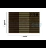 Claw Gear Dual IR Flag Patch FRA (France) (Desert)