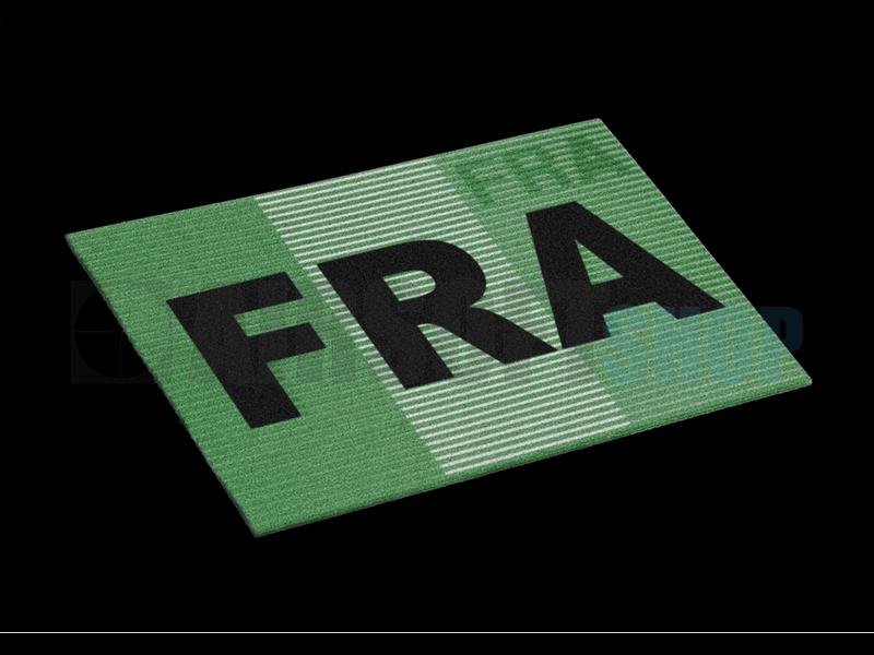 Claw Gear Dual IR Flag Patch FRA (France) (Color)