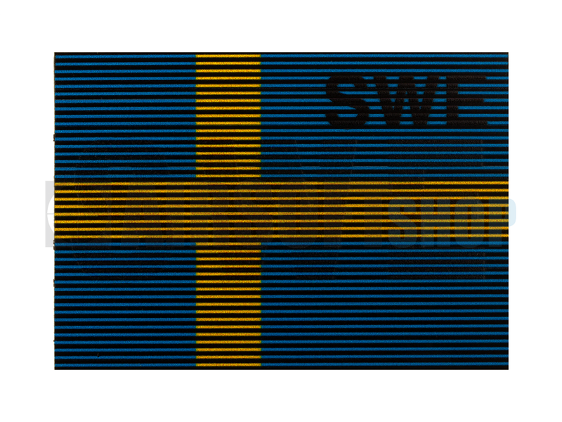 Claw Gear Dual IR Flag Patch SWE (Sweden) (Color)
