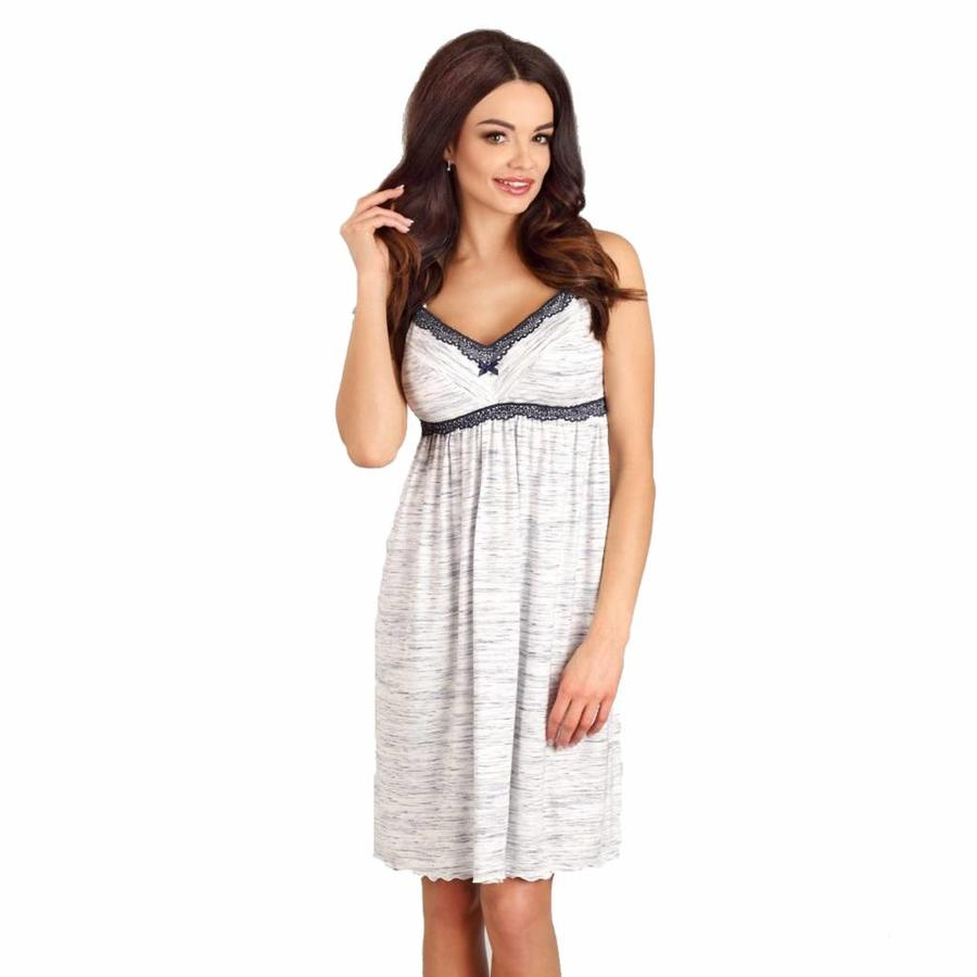 Zwangerschapsnachthemd / Voedingsnachthemd Grey-1