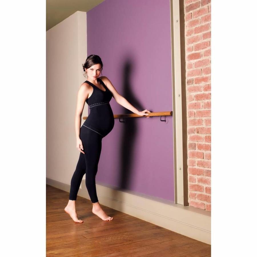 ZwangerschapsLegging Illusion Zwart-2