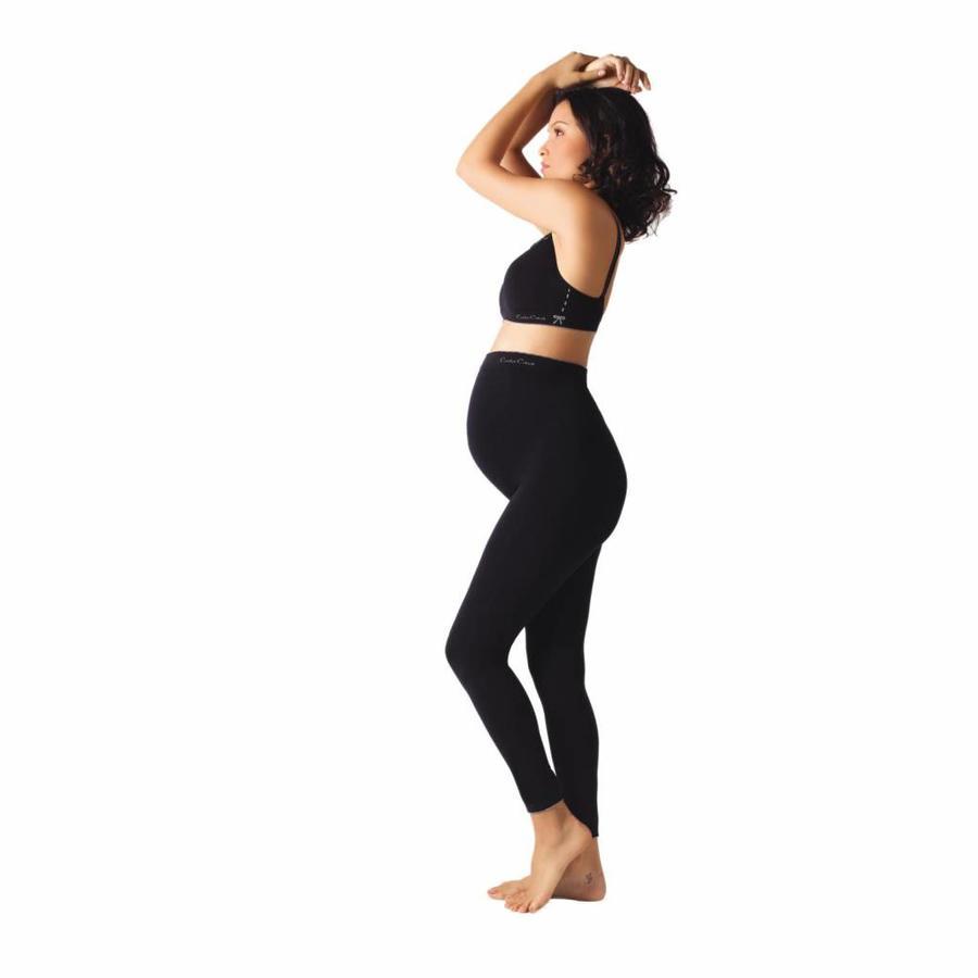ZwangerschapsLegging Illusion Zwart-5
