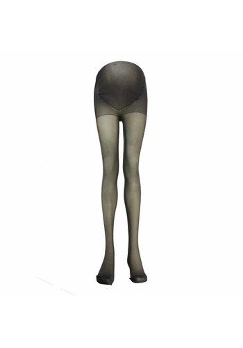 Positie Panty Plussize 20 Den Donkergrijs
