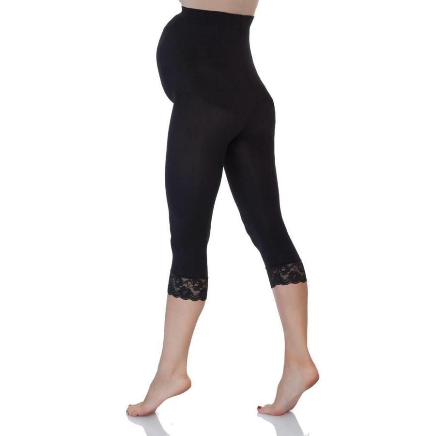Zwangerschapslegging Positielegging 3/4 Lace 60 Den Zwart-2
