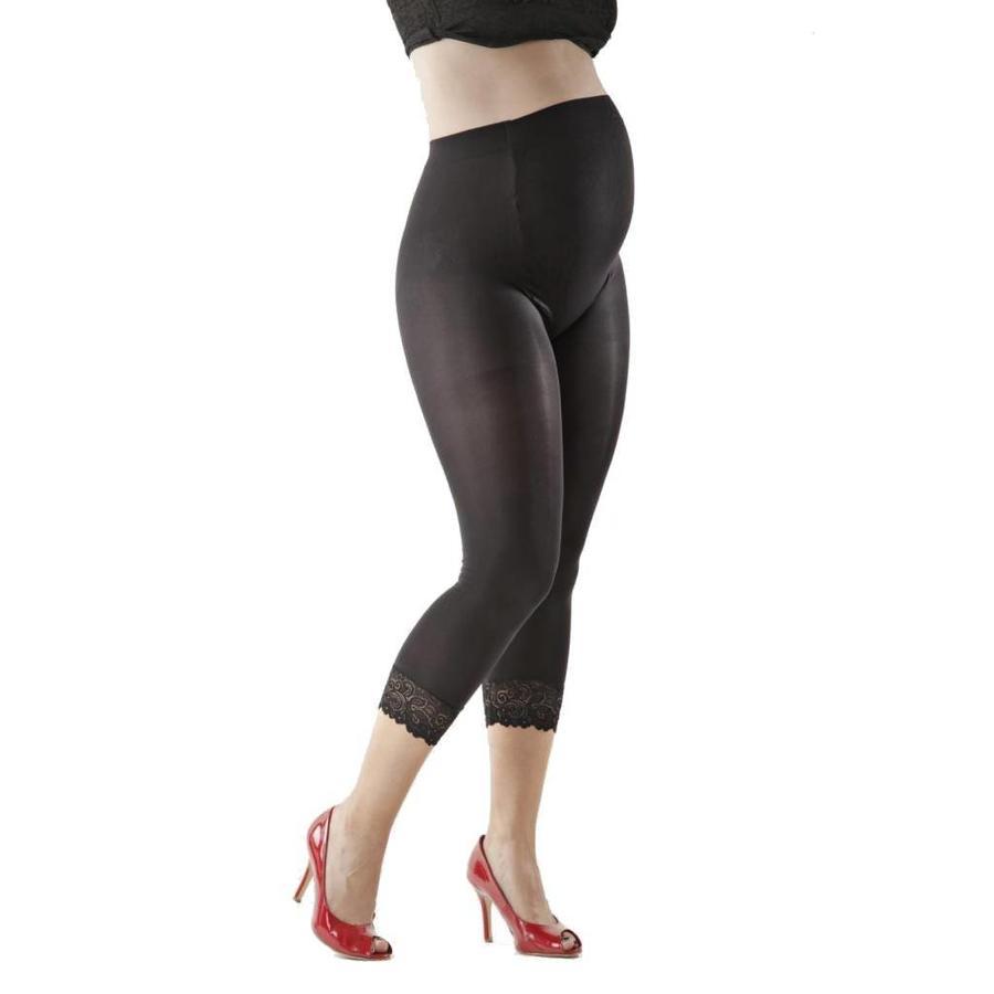 Zwangerschapslegging Positielegging 3/4 Lace 60 Den Zwart-3
