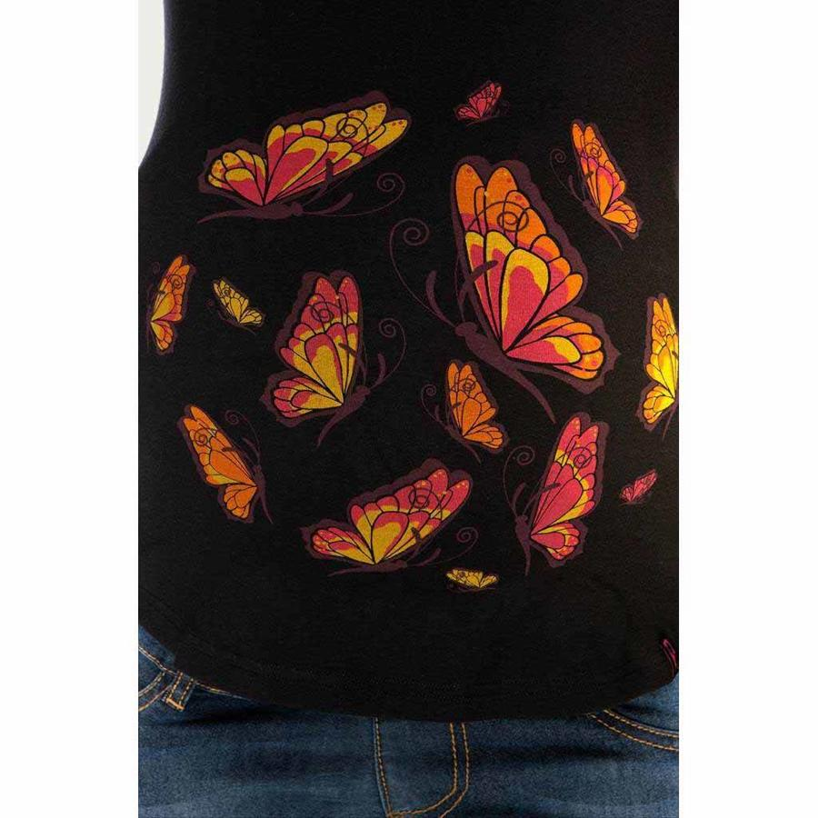 Zwangerschapsshirt Longsleeve Lange Mouw Butterfly-3