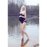 thumb-ZwangerschapsTankini / PositieTankini Amanda Zwart-9