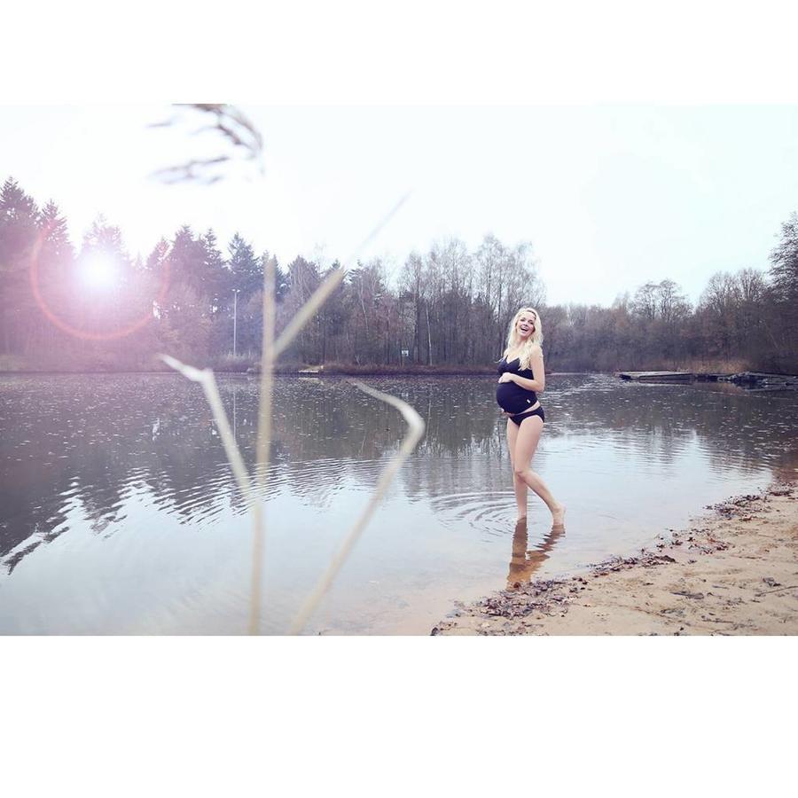 ZwangerschapsTankini / PositieTankini Amanda Zwart-10