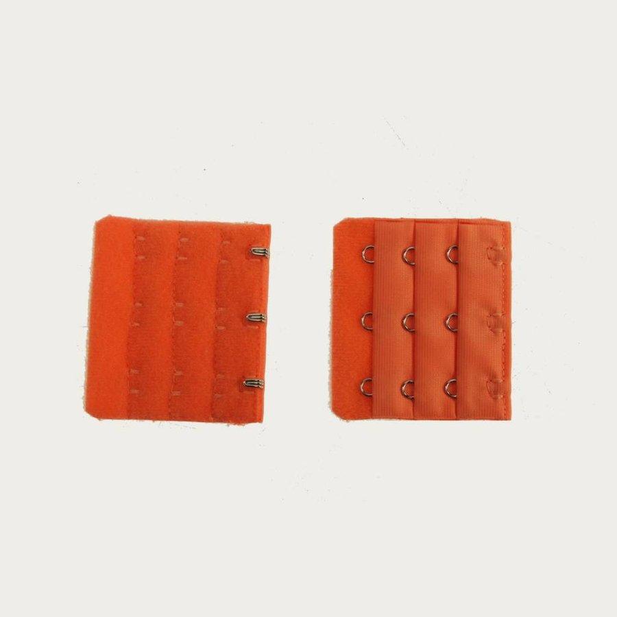 Beha Verlengstuk / Verlenger 3 Haaks Oranje (per stuk)-1