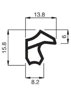 Stahlzargendichtung M2246