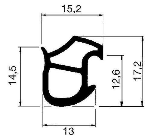 Stahlzargendichtung M2577